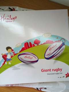 Brand new Hamleys giant rugby ball