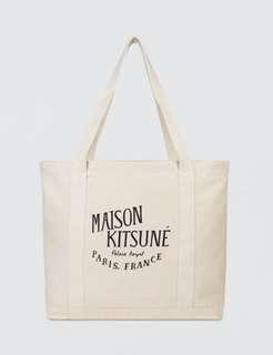 MAISONE KITSUNE tote bag