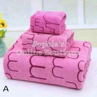 Bath Towel Set - A