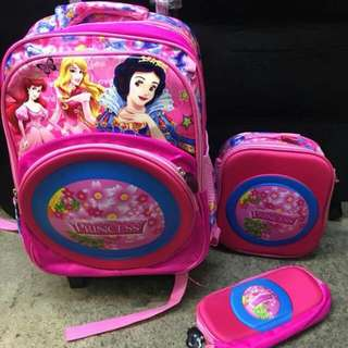 3 in 1 Trolley Bags for girls