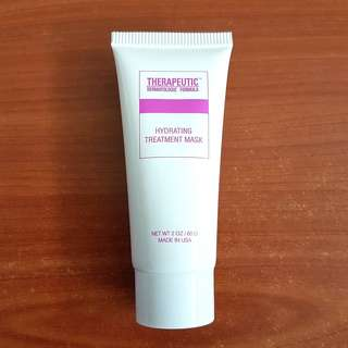 TDF Therapeutic Dermatologic Formula Hydrating Treatment Mask 60g \moisturizing\soothing\waterbank\face\rinse-off