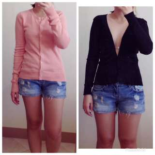 2 cardigans for 180php