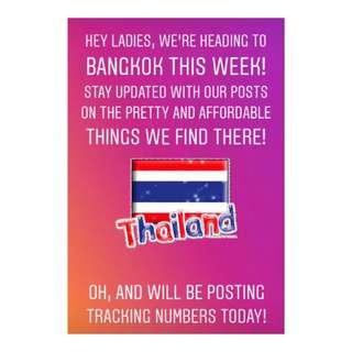 Thailand Goodiessss!