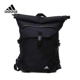 Adidas ST backpack 基本款 後背包 多夾層 防潑水 黑色 筆電包 機能性 BK5660