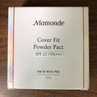 Mamonde Cover Fit Powder Pact (17 Cool Beige)