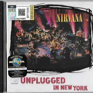NIRVANA Unplugged In New York Imported CD