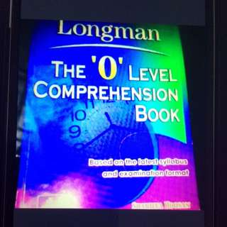 O Level Comprehension Book
