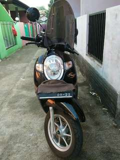 Honda scoopy 2017 stylish black OVER KREDIT