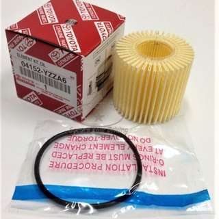 Toyota Genuine Oil Filter 04152-YZZA6 for new Altis / Prius / Wish / Harrier
