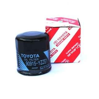 Toyota Genuine Oil Filter 90915-YZZE1 - Camry / Altis / Wish / Avanza / Yaris