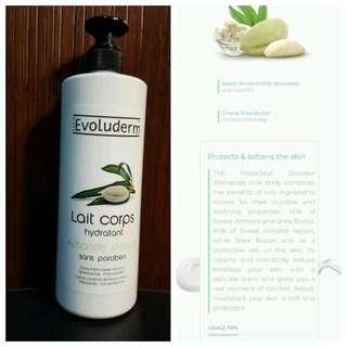 SALE!!!! Evoluderm almond body lotion