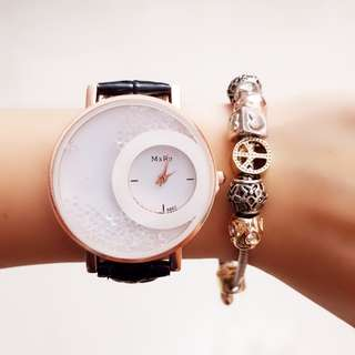 Happy Crystal Design Watch