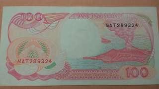 uang 100 perak lama asli