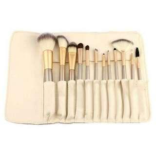 Brush Make Up Set Persia Plus Pouch 12pcs