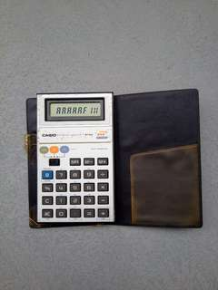 Casio mg-880 game calculator 遊戲計數機 game watch