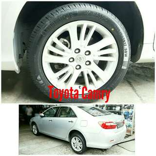 Tyre 225/50 R17 Membat on Toyota Camry 🐕 Super Offer 🙋♂️
