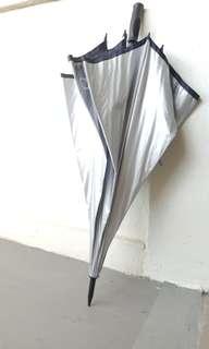 Reflective Sun Golf Yacht Boating Large UV Protection Umbrella BRAND NEW