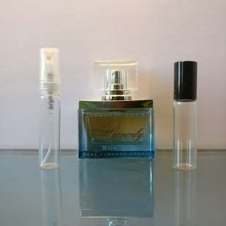 Elizabeth Grant HEAVENLY 5mL EDP Travel Sample Spray Atomizer or Roll-On Rollerball Vial