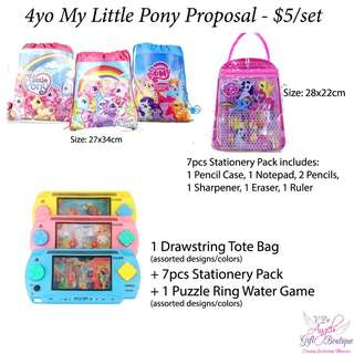 Party Packs - My Little Pony
