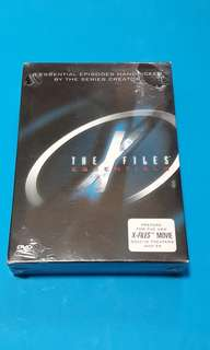 The x files essentials 4dvd Code 3 (brand new)