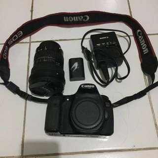 Canon EOS 60D sepaket lensa Tokina 12-24 f.4