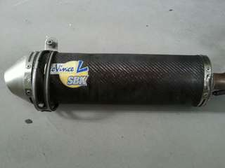 LEO VINCE SBK PIPE without cert and silencer
