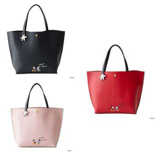 Pre-Order Colors By Jennifer Sky Mickey 2017 Large Tote Bag