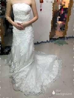 重手工釘珠閃閃lace婚紗( Bling bling wedding gown)