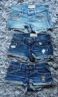 Abercrombie Kids Denim Shorts