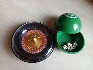 🚚 全新 輪盤 + 骰子樂 🎲🎲🎲🎲🎲