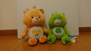 Official Carebears (Orange and Green)