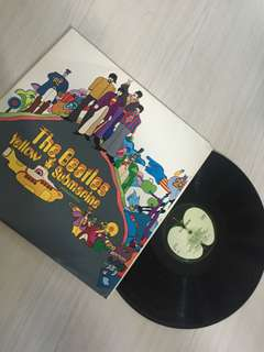 The Beatles, Yellow Submarine on vinyl