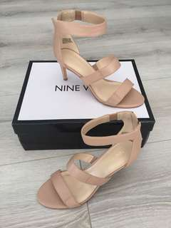 Nine West Anouck Nude Heels | Size 6