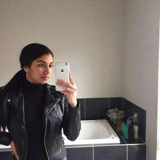 Forever New Black Leather Jacket