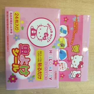 Hello kitty insect repellent sticker