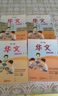 Sec 2 higher Chinese book