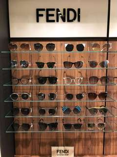 Fendi sunglasses and eyewear