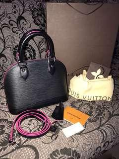 LV  Alma BB Epi Leather 2017