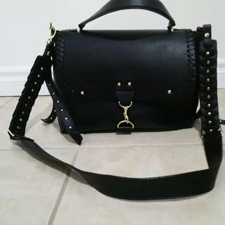 Black Steve madden crossbody purse