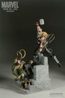 Sideshowtoy Thor vs Loki Statue