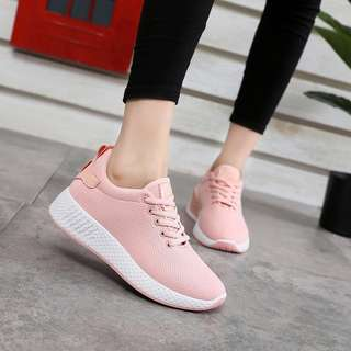 Baby Pink Sport Shoes