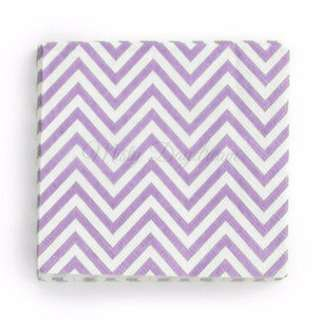 Chevron Napkins Value Pack (Set of 20) – Lavender