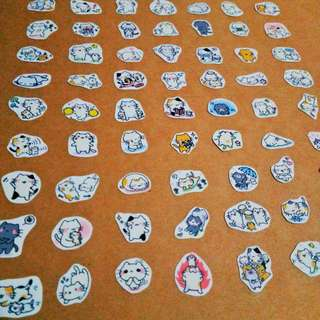 Assorted Cat Stickers