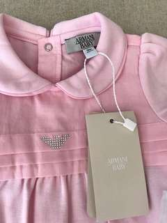 Armani Baby girls jumpsuit