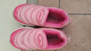 Sweet Pink Nike Inspired Design Sports Shoes for Girl (size 29)