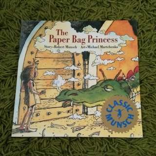 Free mail - English Storybook The Paper Bag Princess