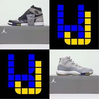 NEW+USED,,Jordan 1 Shadow+Jordan 11 Cool Grey pack,,US9.5+US9
