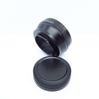 Fotasy Lens mount adapter (Nikon lens to Fujifilm X series)
