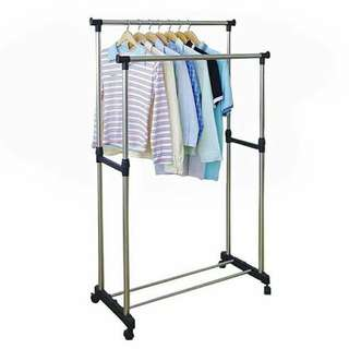 CLOTHES HANGING RACK STAND