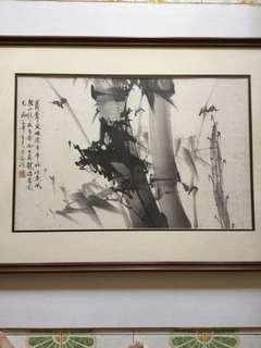中国水墨画 43x66cm